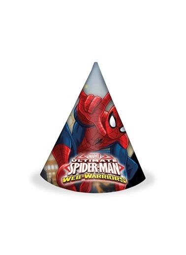 Ultimate Spiderman 6 lı Şapka-Spiderman